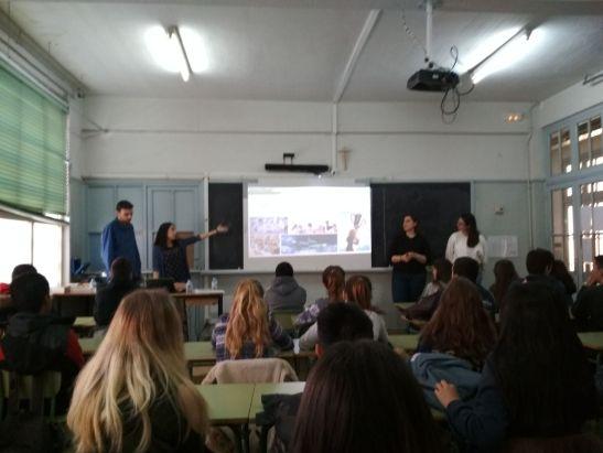 AEBE en el Colegio Vedruna 2