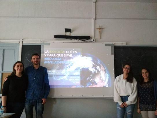 AEBE en el Colegio Vedruna