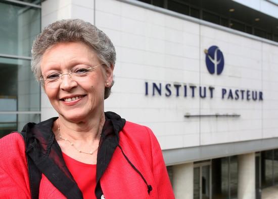 France - Nobel Prize winner Francoise Barre-Sanoussi