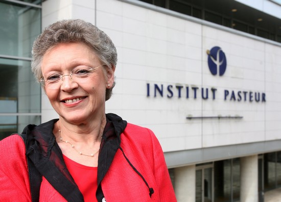 France - Nobel Prize winner Francoise Barre-Sanoussi