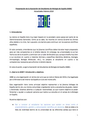 Presentación doc AEBE